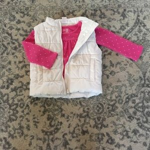 Puffer Vest and Long Sleeve Thermal